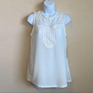 Halogen sleeveless blouse